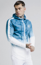 SIK SILK SikSilk Athlete Fade Hoodie Teal Farba: Modrá,Tyrkysová,
