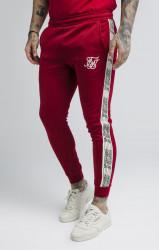 SIK SILK Tepláky SikSilk Runner Panel Track Pants Farba: Červená,