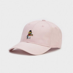 Šiltovka Cayler & Sons strapback WL Hyped Garfield curved pale pink / mc - UNI