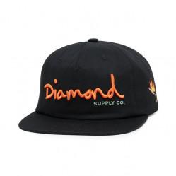 Šiltovka Diamond OG Script Snapback Farba: Čierna, Pohlavie: pánske