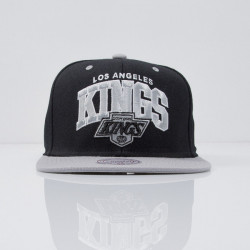 Šiltovka Mitchell & Ness cap snapback Los Angeles Kings black Team Arch ND12Z - UNI