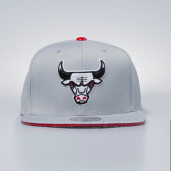 Šiltovka Mitchell & Ness cap strapback Chicago Bulls grey Katrina 3 Pop Color - UNI