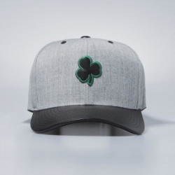 Šiltovka Mitchell & Ness snapback Boston Celtics grey / black Vintage Top Shelf Curve - UNI