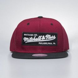 Šiltovka Mitchell & Ness snapback Own Brand burgundy / black 2 Tone Label - UNI
