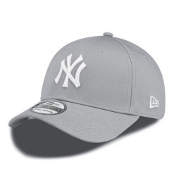Šiltovka New Era 39thirty MLB League Basic NY Yankees Grey White Flexfit: M/L