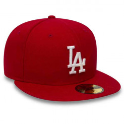 Šiltovka New Era 59Fifty Essential LA Dodgers Red White New era: 7 1/4