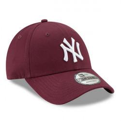 Šiltovka New Era 9Forty Essential Cap NY Yankees Maroon