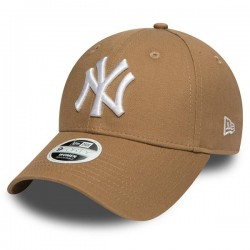 Šiltovka New Era 9Forty Womens Essential NY Yankees Khaki White