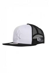Šiltovka New Era New York Yankees Contrast white black