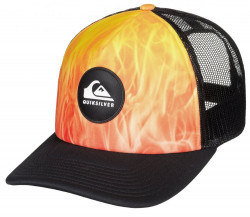 Šiltovka Quiksilver Bright Learnings Trucker tiger orange