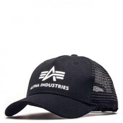 Šiltovka so sieťkou Alpha Industries Basic Trucker Cap Black