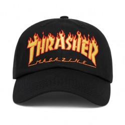 Šiltovka Thrasher Flame Old Timer Hat Black