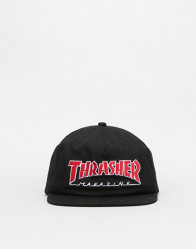 Šiltovka Thrasher Outlined Snapback Cap - Black