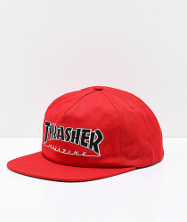 Šiltovka Thrasher Outlined Snapback Cap - RED