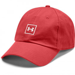 Šiltovka Under Armour Mens Washed Cotton Cap-RED