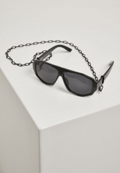 Slnečné okuliare Urban Classics 101 Chain Sunglasses čierne