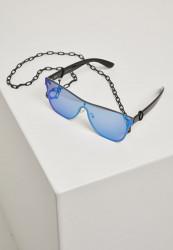 Slnečné okuliare Urban Classics 103 Chain Sunglasses blk/blue