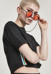 Slnečné okuliare Urban Classics 104 Chain Sunglasses blk/orange
