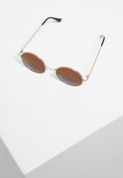 Slnečné okuliare Urban Classics 107 Sunglasses UC gold/brown Pohlavie: pánske,dámske