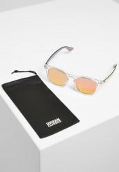 Slnečné okuliare Urban Classics 109 Sunglasses UC transparent/red Pohlavie: pánske,dámske
