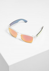 Slnečné okuliare Urban Classics 110 Sunglasses UC transparent/red Pohlavie: pánske,dámske