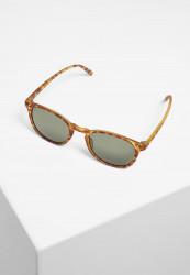 Slnečné okuliare Urban Classics Sunglasses Arthur UC brown leo/green Pohlavie: dámske