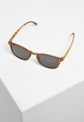 Slnečné okuliare Urban Classics Sunglasses Arthur UC brown leo/grey Pohlavie: dámske