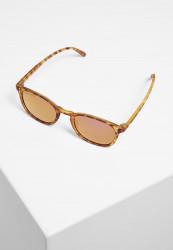 Slnečné okuliare Urban Classics Sunglasses Arthur UC brown leo/rosé Pohlavie: dámske