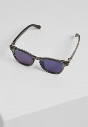 Slnečné okuliare Urban Classics Sunglasses Italy with chain grey/silver/silver Pohlavie: pánske,dámske