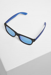 Slnečné okuliare Urban Classics Sunglasses Likoma Mirror UC black/blue Pohlavie: pánske,dámske