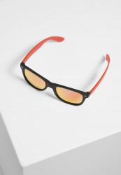 Slnečné okuliare Urban Classics Sunglasses Likoma Mirror UC black/red Pohlavie: pánske,dámske