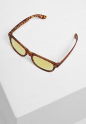 Slnečné okuliare Urban Classics Sunglasses Likoma Mirror UC brown leo/orange Pohlavie: pánske,dámske
