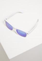 Slnečné okuliare Urban Classics Sunglasses Likoma Mirror UC wht/blu Pohlavie: pánske,dámske