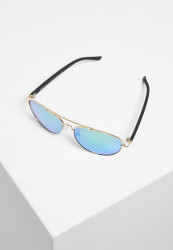 Slnečné okuliare Urban Classics Sunglasses Mumbo Mirror UC gold/green Pohlavie: pánske,dámske