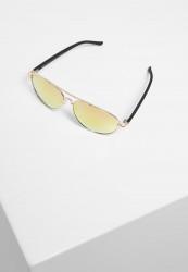 Slnečné okuliare Urban Classics Sunglasses Mumbo Mirror UC gold/orange Pohlavie: pánske,dámske