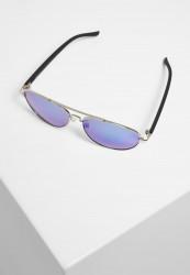 Slnečné okuliare Urban Classics Sunglasses Mumbo Mirror UC silver/blue Pohlavie: pánske,dámske