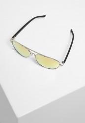 Slnečné okuliare Urban Classics Sunglasses Mumbo Mirror UC silver/orange Pohlavie: pánske,dámske