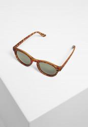 Slnečné okuliare Urban Classics Sunglasses Sunrise UC brown leo/green Pohlavie: dámske