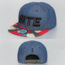 Snapback Just Rhyse Bite Snapback Cap Jeans Denim Blue
