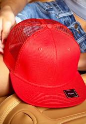 Snapback MSTRDS MoneyClip Trucker Snapback Cap red Farba: Červená, Pohlavie: pánske