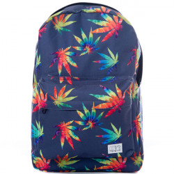 Spiral Grass Tie Dye Backpack Bag - UNI