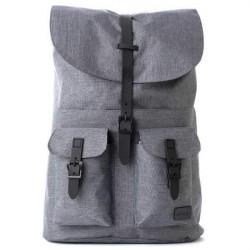 Spiral No Mad Crosshatch Charcoal Backpack Bag - UNI
