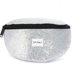 Spiral Silver Glamour Bum Bag - UNI
