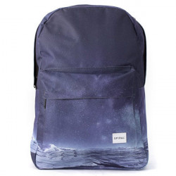 Spiral Space Mountaion Backpack Bag Blue - UNI
