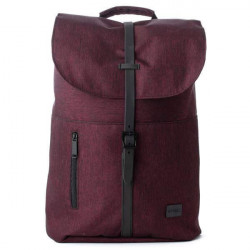Spiral Tribeca Crosshatch Burgundy Backpack Bag - UNI