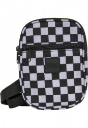 Taška cez rameno Urban Classics Festival Bag Small black/white