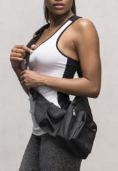Taška cez rameno Urban Classics Multi Pocket Shoulder Bag čierna