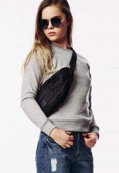Taška cez Rameno Urban Classics Shoulder Bag čierna