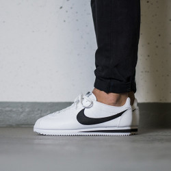 Tenisky NIKE CLASSIC CORTEZ LEATHER WHITE BLACK 749571-100
