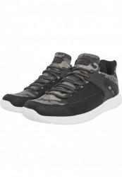 Tenisky Urban Classics Trend Sneaker camo/čierne/biele